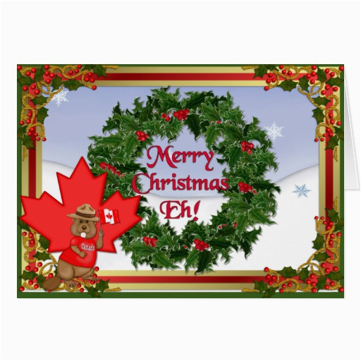 canada christmas greeting cards zazzle