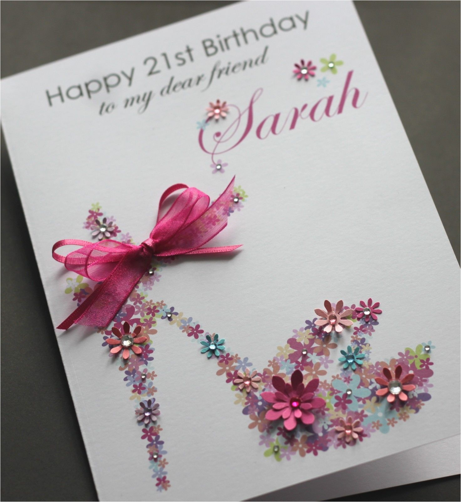 Custom Birthday Cards Uk Handmade Birthday Cards Weneedfun