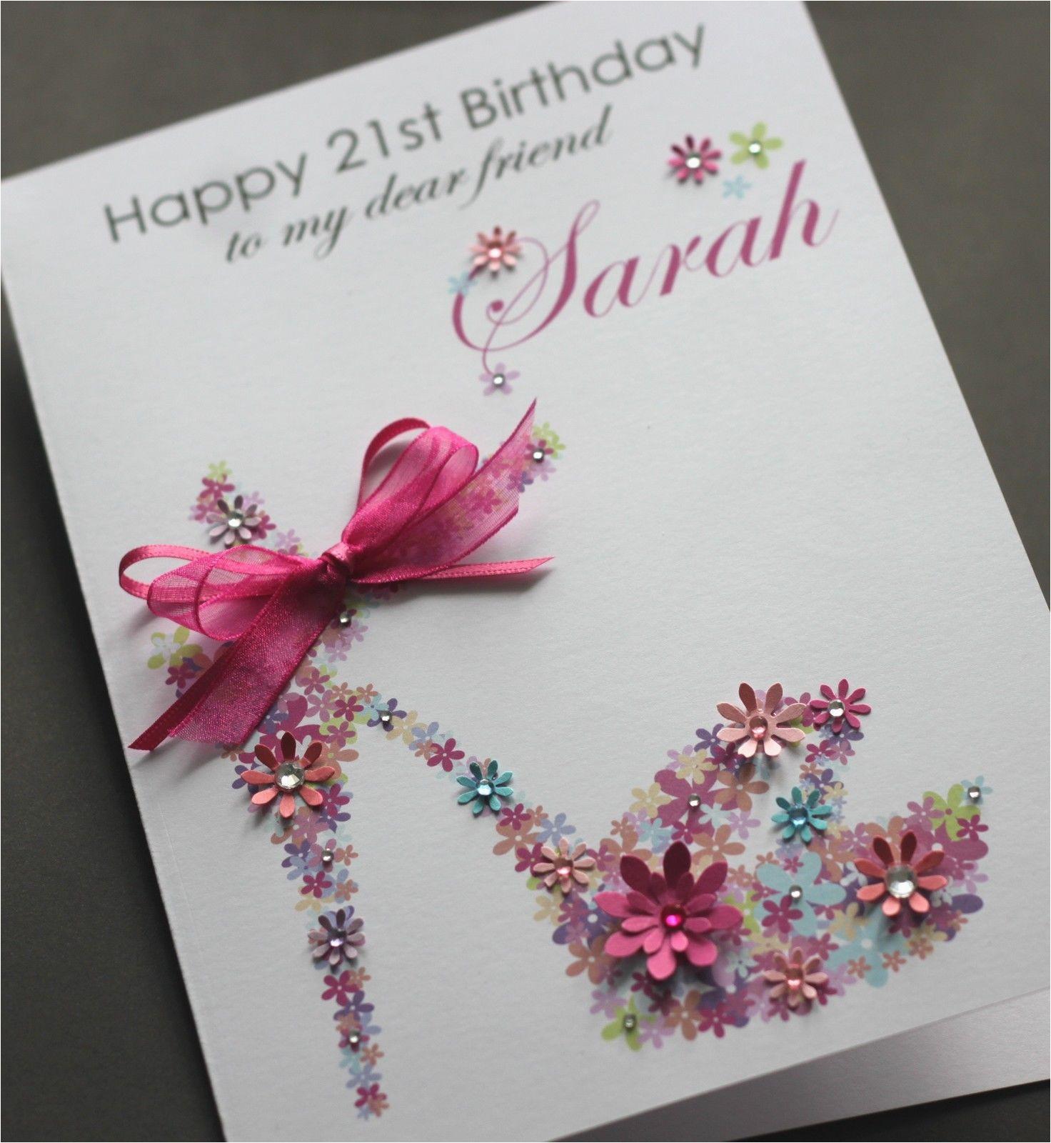Custom Birthday Cards Uk Handmade Weneedfun