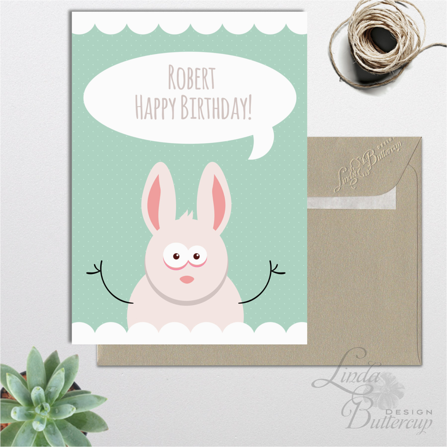 personalized birthday card printable