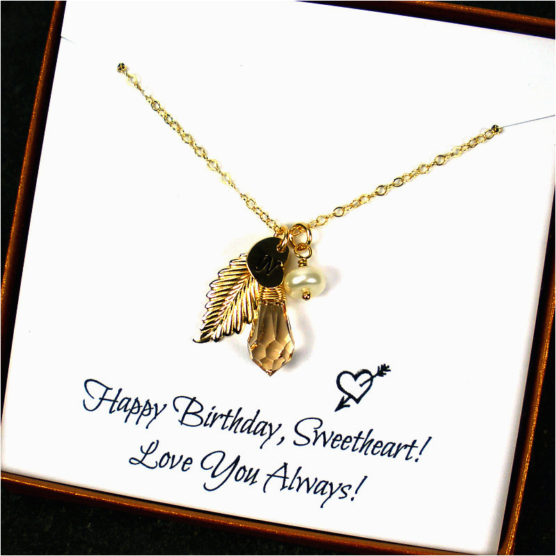 birthday gifts for her personalized birthday gift gift for