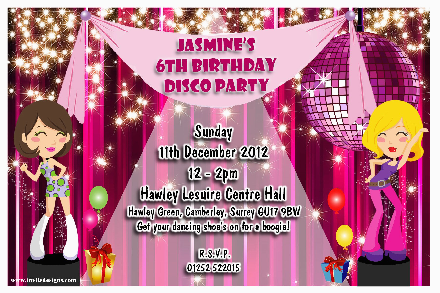 Customized Birthday Invitations Online Free Invitation Card Wording