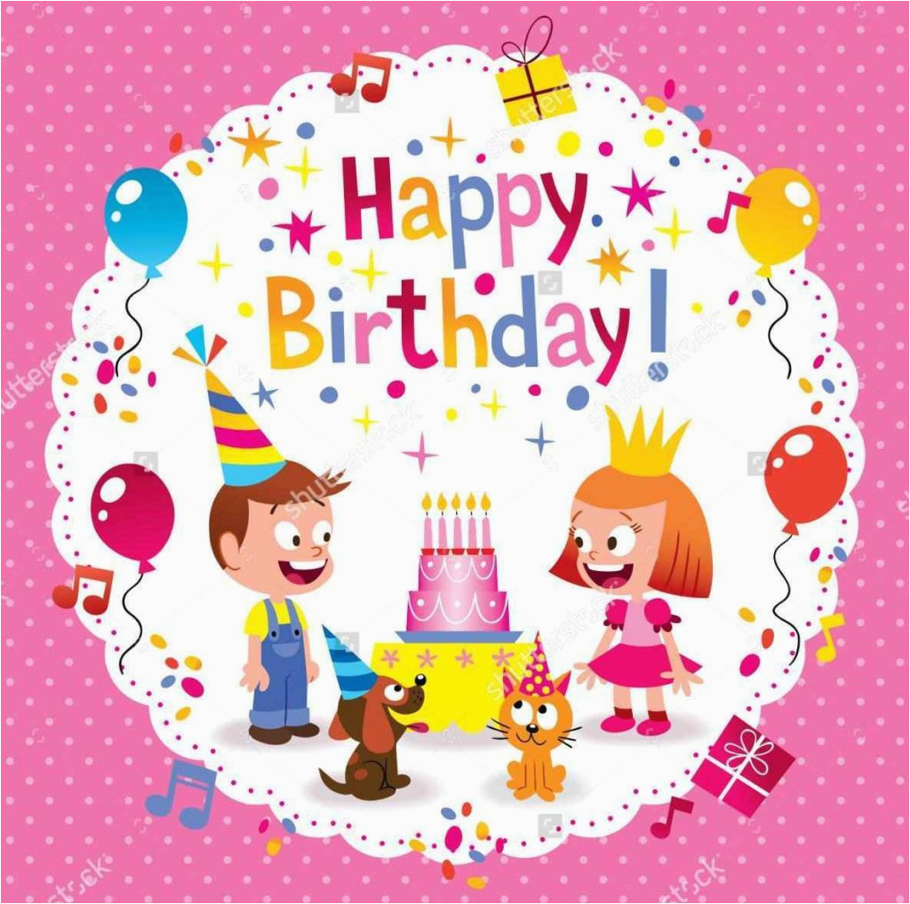 cute birthday cards for kids