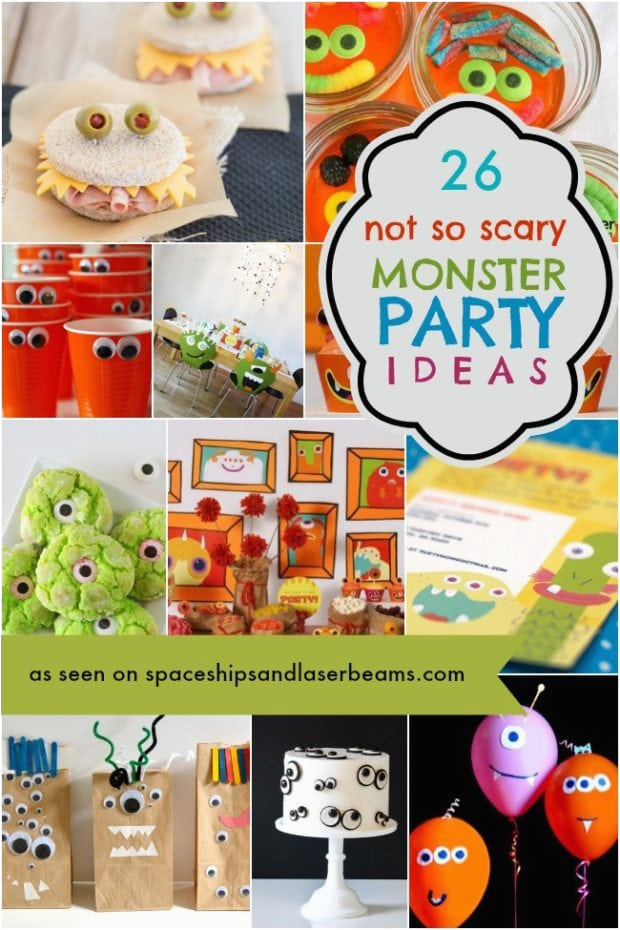 silly monster party ideas