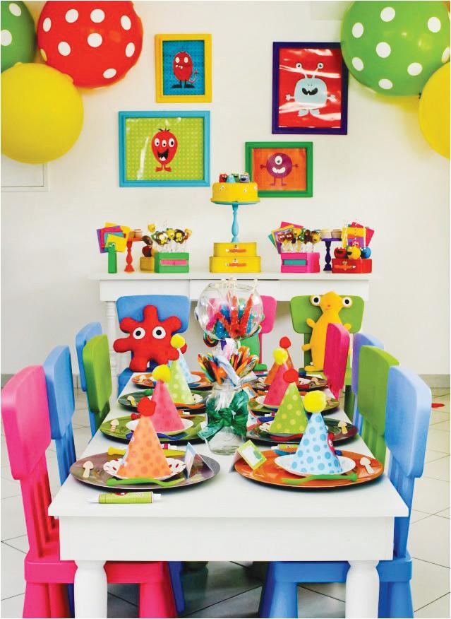 cute little monster party ideas m 1