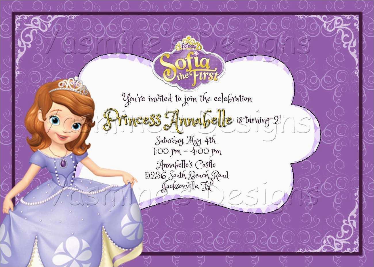 Cvs Birthday Invitation Cards Cvs Birthday Cards Inspirational sofia the First Printable