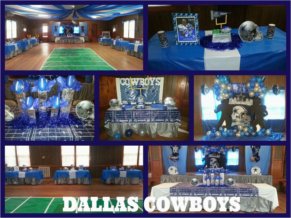 Dallas Cowboys Birthday Decorations Dallas Cowboys Football Birthday Party Ideas Photo 1 Of