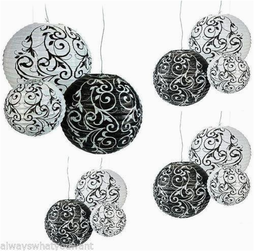 damask party decorations