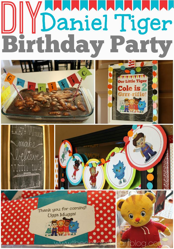 daniel tiger birthday party 2 free