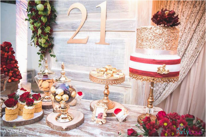 Rustic Vintage 21st Birthday Party