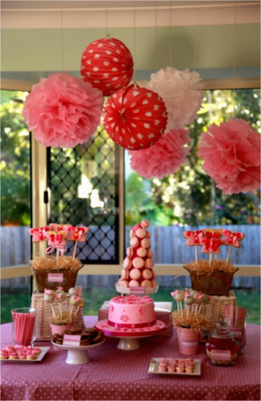 Decorate Table for Birthday Party 1st Birthday Decoration Ideas at Home for Party Favor