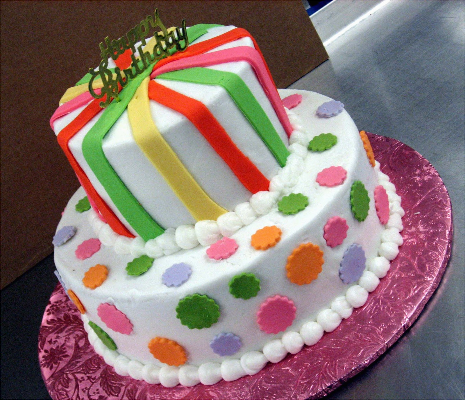 Decorated Birthday Cakes At Walmart Cake Decorations For Kids