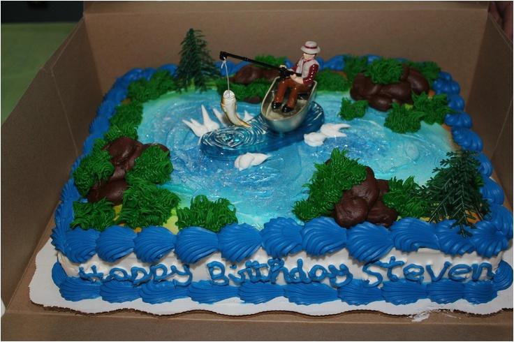 237987161529087544 Fishing Theme Birthday Cake Walmart Bakery