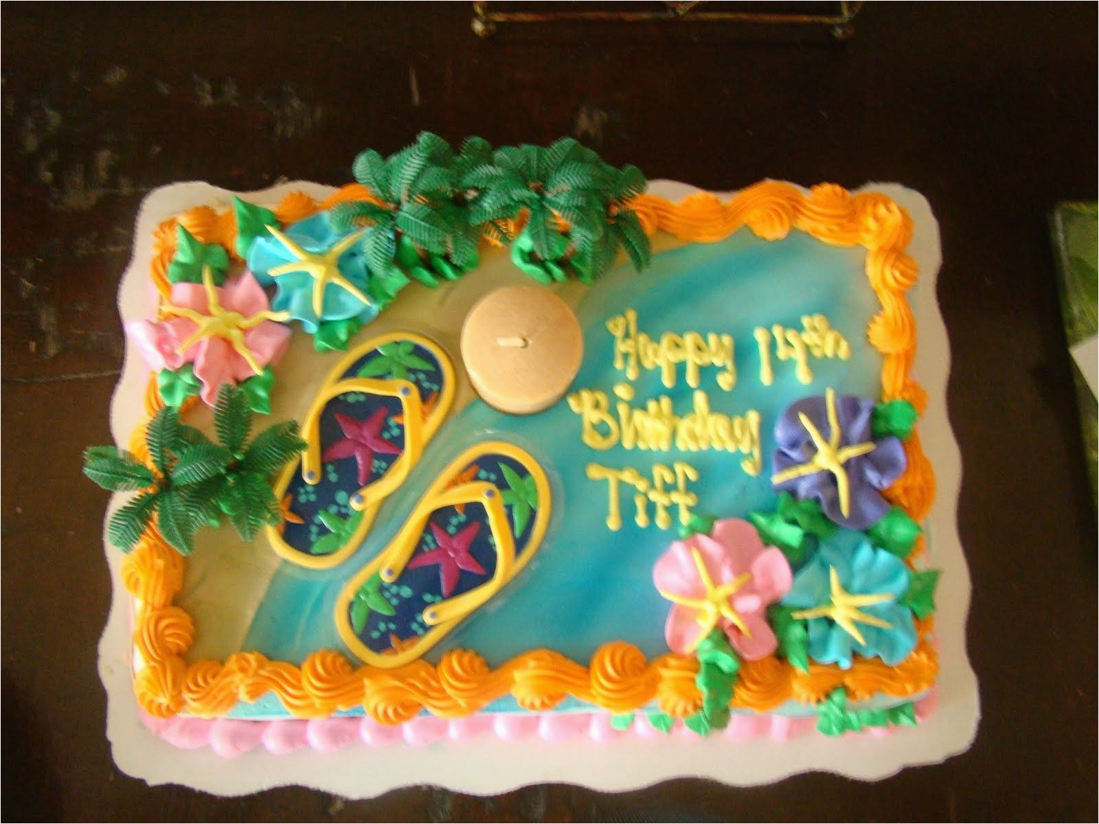 Decorated Birthday Cakes At Walmart Luau Holiday Ideas