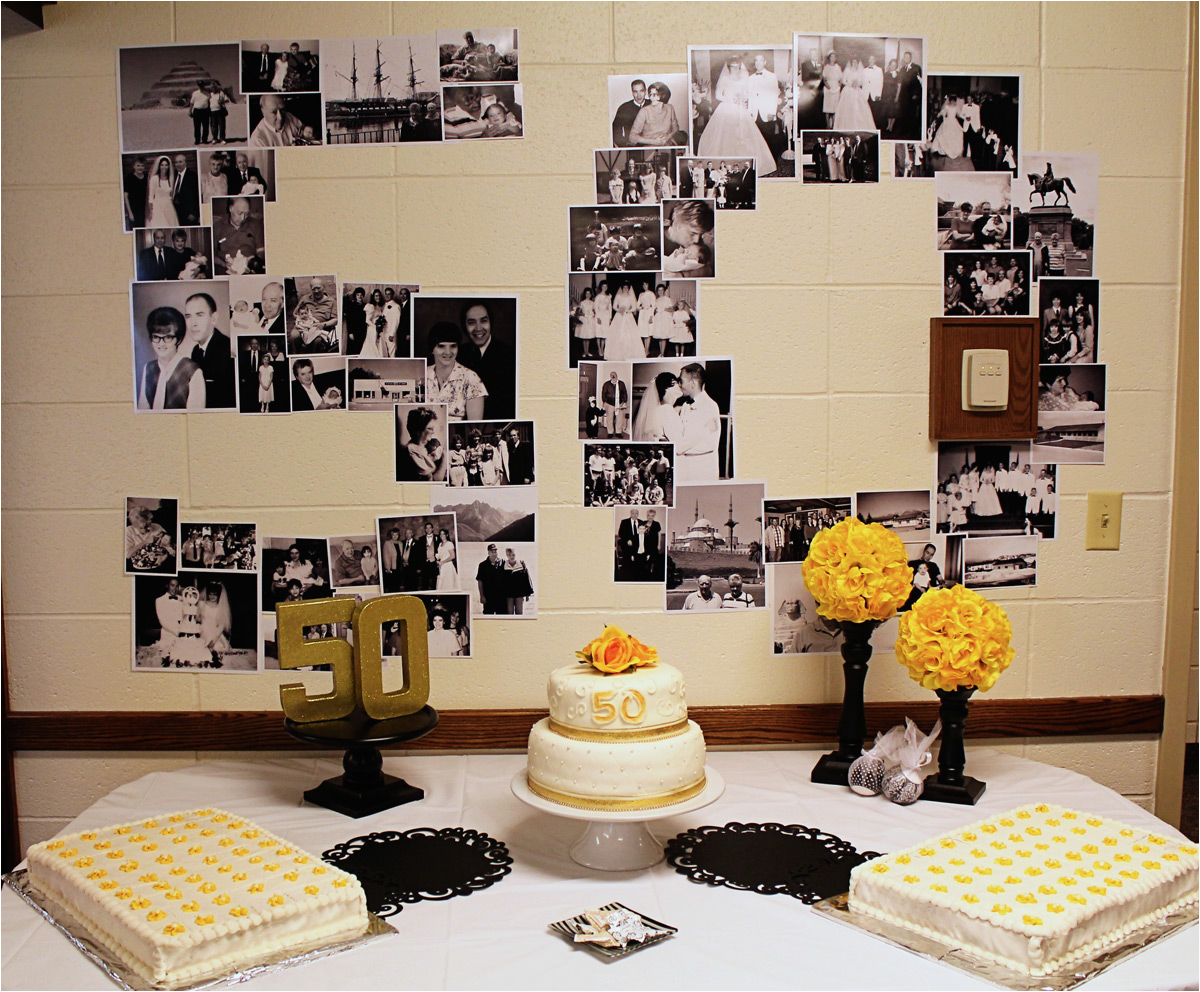 Decorating For A 50th Birthday Party Scraps Of Shirlee Dad And Mom 39 S Anniversary