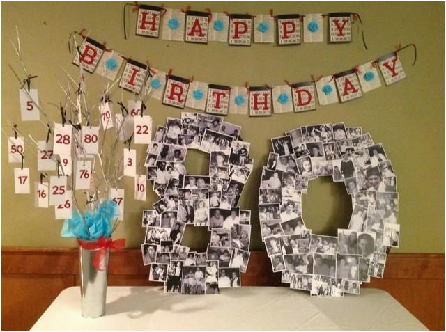 Decorating Ideas for 80th Birthday Party 18 Best Ideas to Plan 80th Birthday Party for Your Close