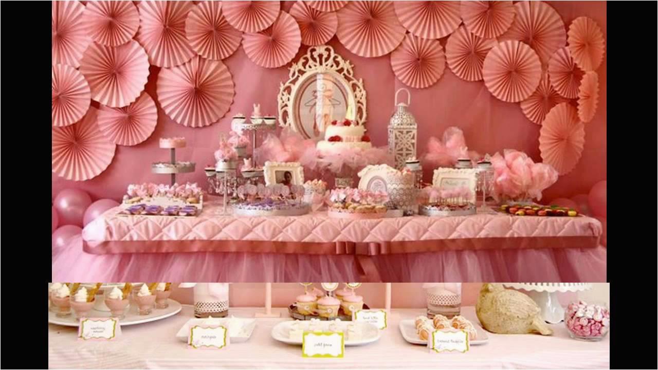 baby girl birthday party theme ideas