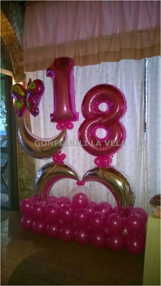 Decoration For 18th Birthday Party 39 Best Images On Pinterest Balloon