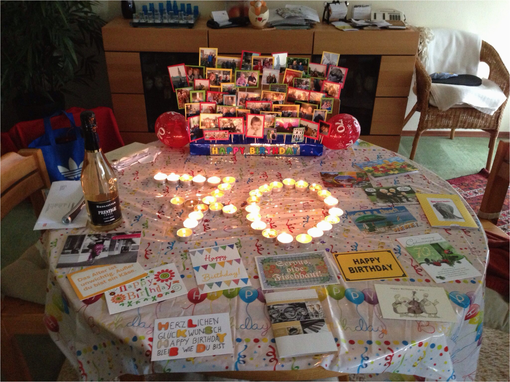 Decoration Ideas For 70th Birthday Party Dad 39 S Pinterest