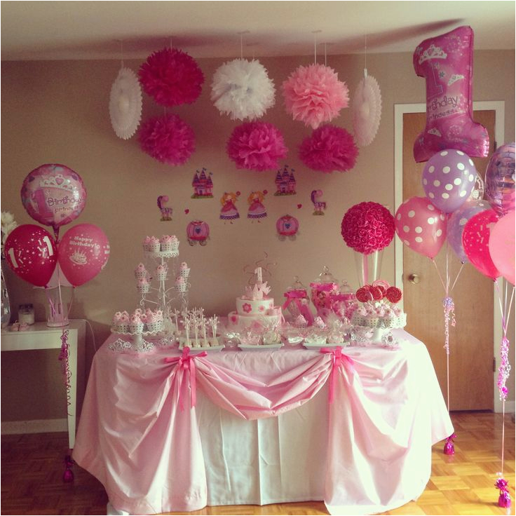 Decoration Ideas For Princess Birthday Party Cupcake Decorations Packs Personalized