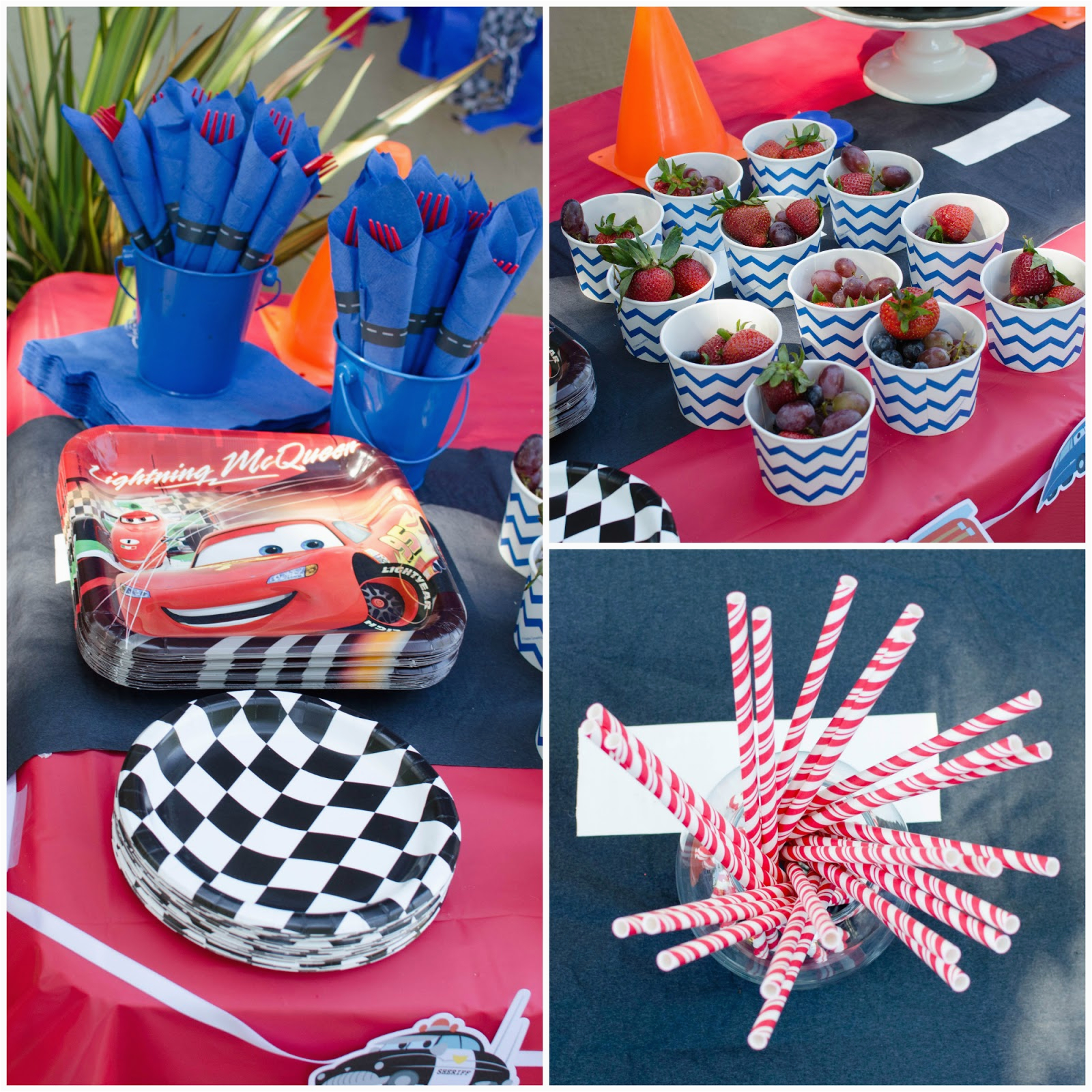 Decoration Ideas Lightning Mcqueen Birthday Party These Little Loves A Cars 3rd