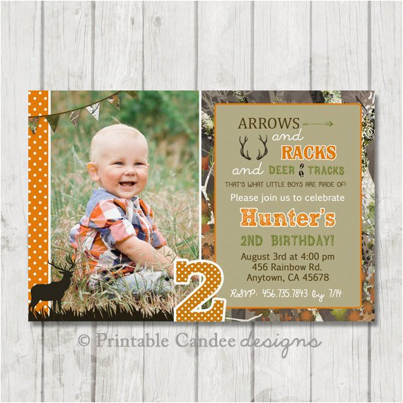 deer hunting birthday invitation hunting ref shop home active 5