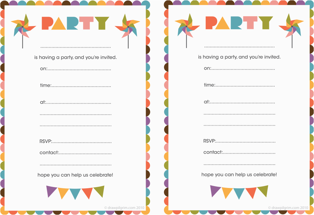 printable birthday invitation for the invitations design of your inspiration birthday invitation templates party 9