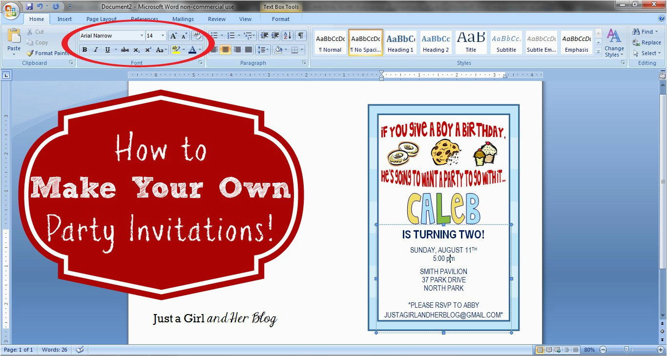 Design Birthday Invitations Online To Print Create Free Printable