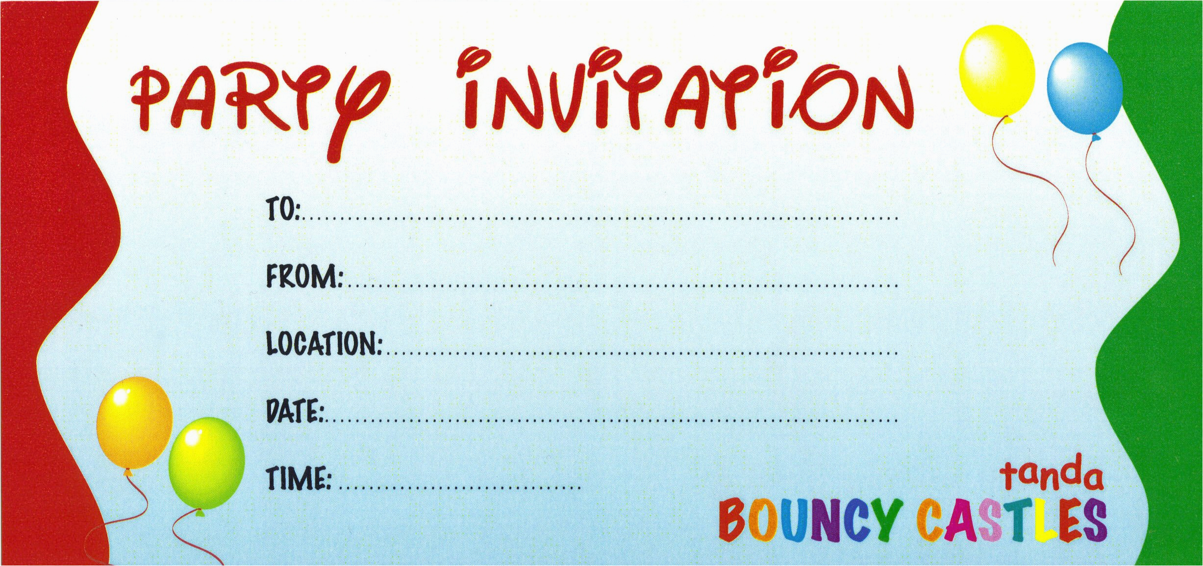 Design Your Own Birthday Invitations Free Printable Create