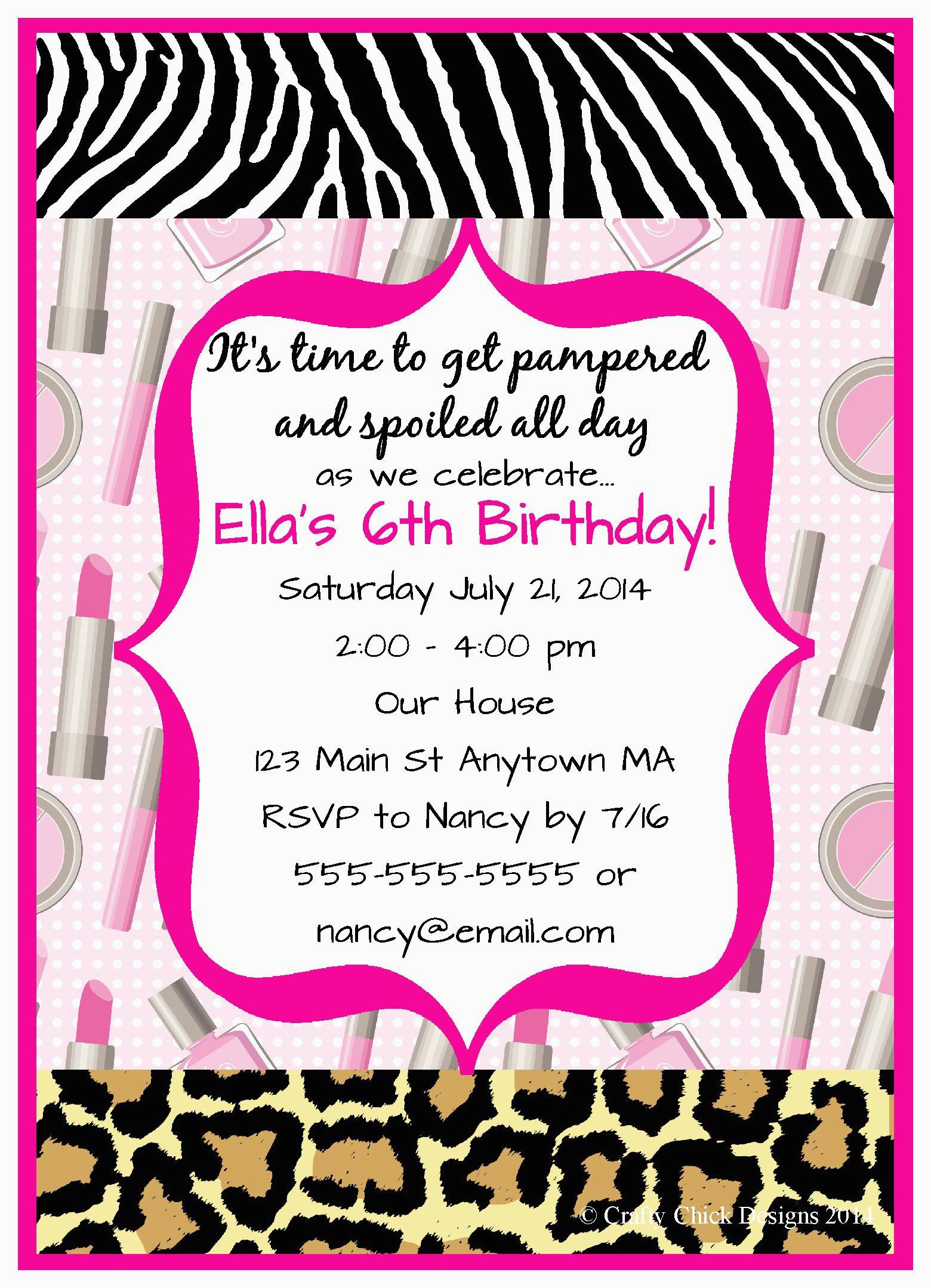 Designer Birthday Invitations Design Free