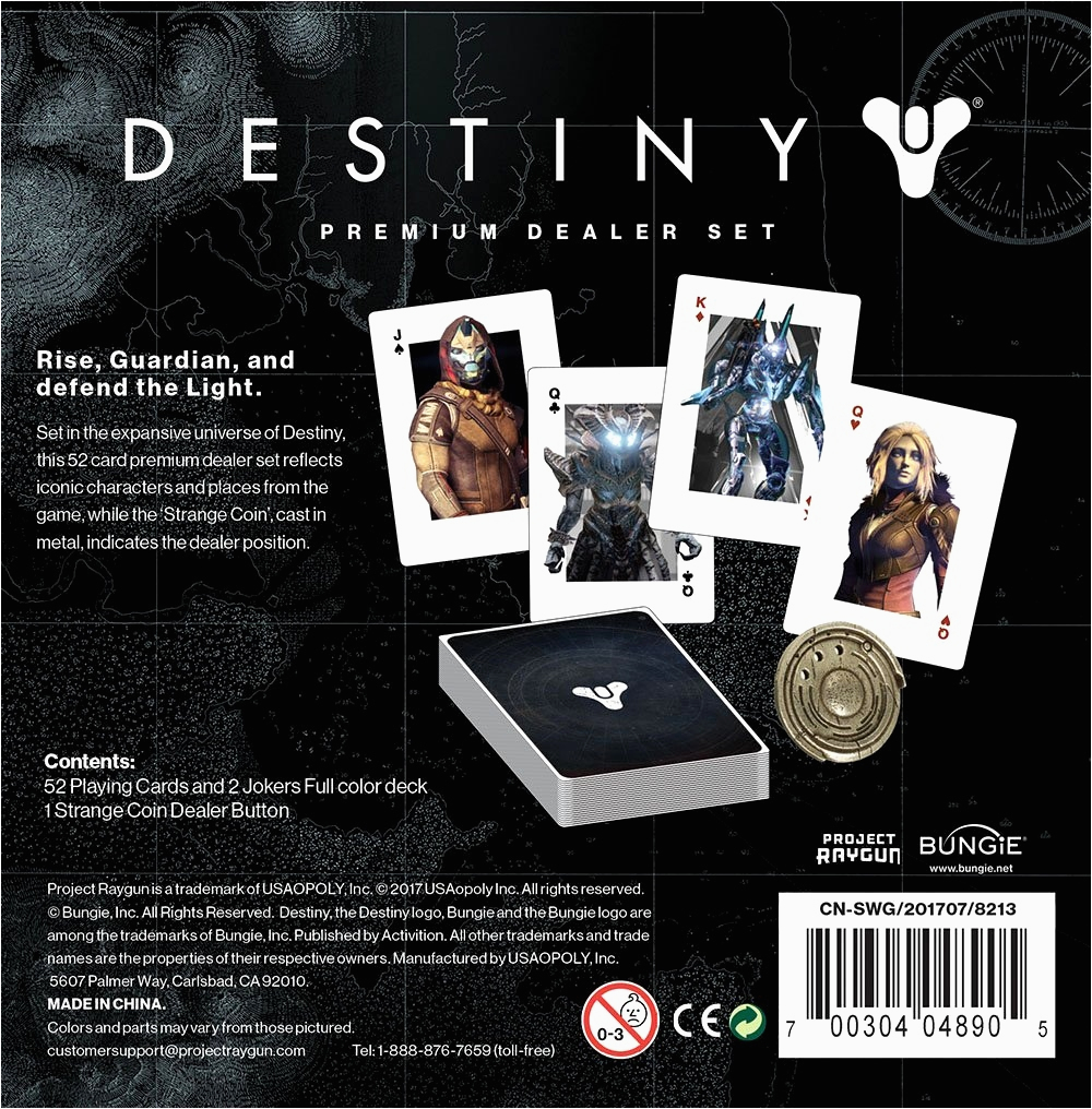 destiny game birthday card