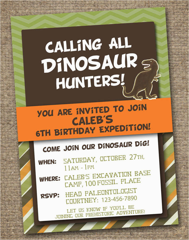 Dinosaur Birthday Invitation Wording Freebie Friday Free