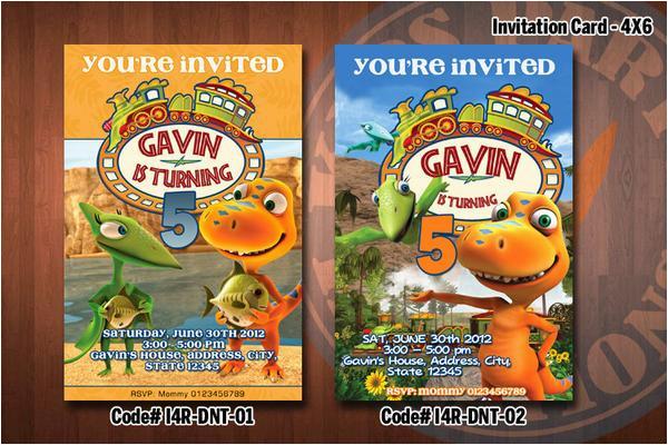 dinosaur train invitation printable invitation for