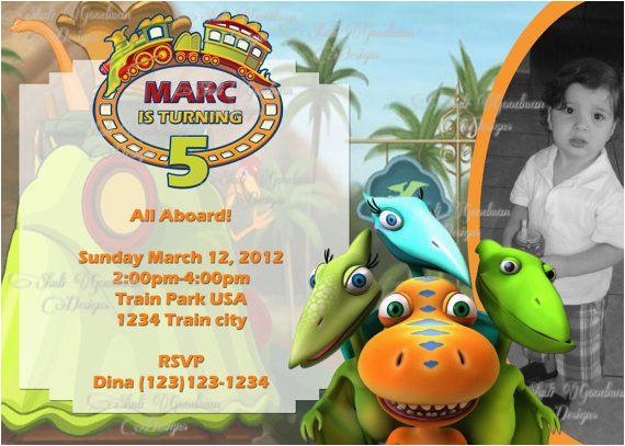 Dinosaur Train Birthday Invitations Free Printable Invitation Orderecigsjuice Info