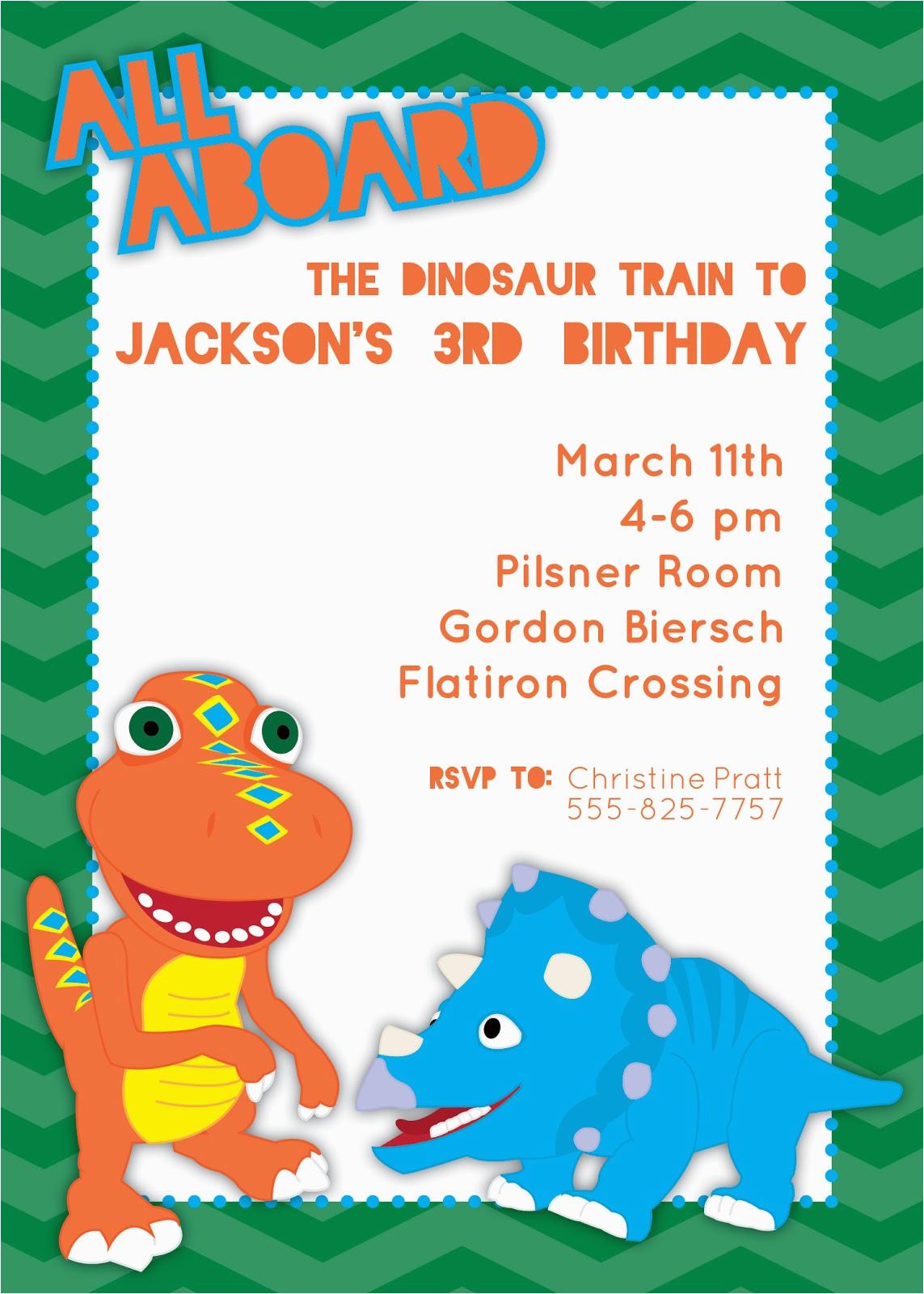 Dinosaur Train Birthday Invitations Free River Bridge Invitation Thank You Note