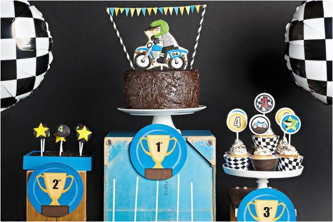 Dirt Bike Birthday Decorations Boy Bash Dirt Bike Birthday Dessert Table Spaceships