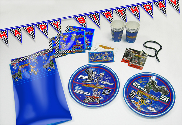 motocross birthday party supplies