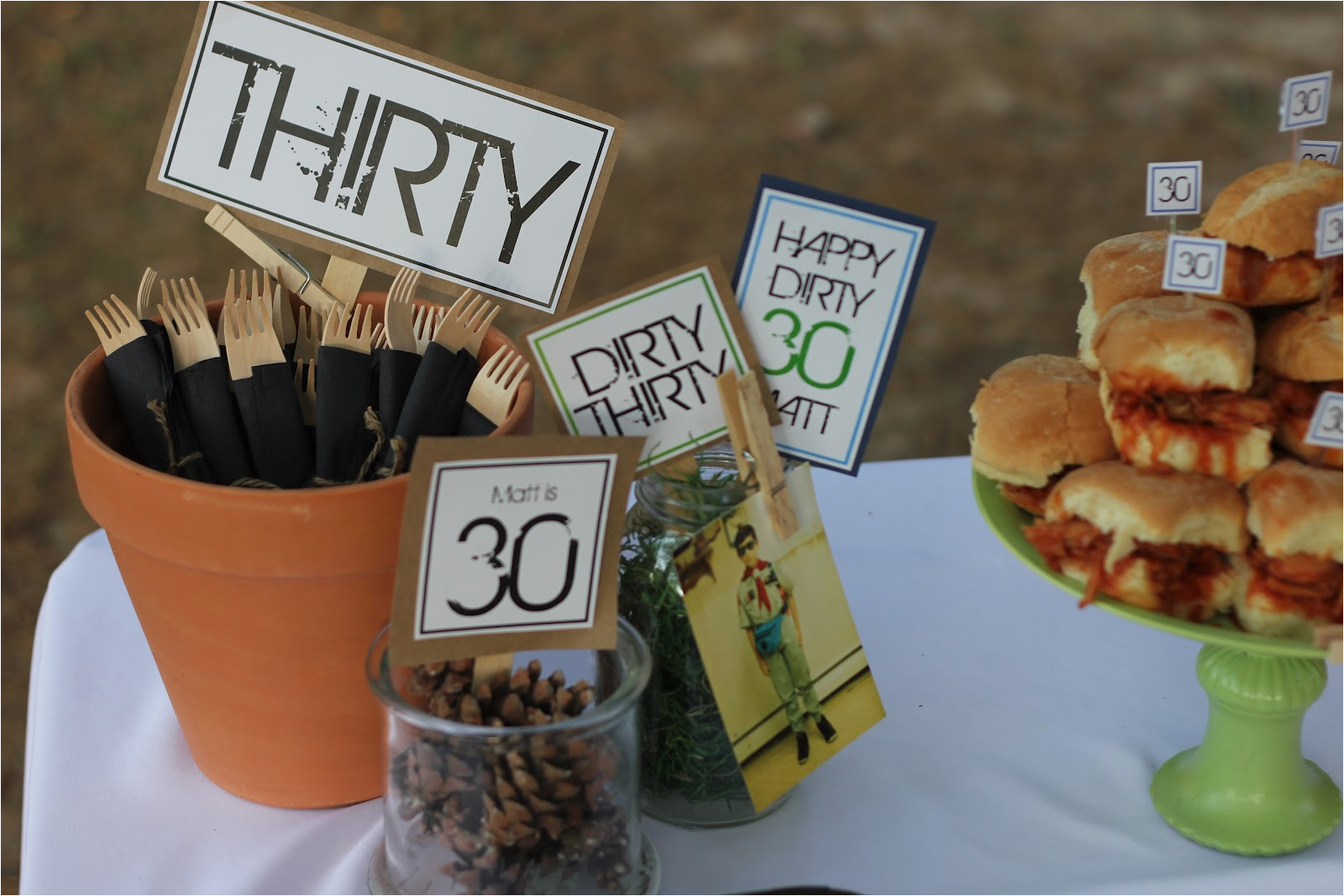 30th birthday party themes