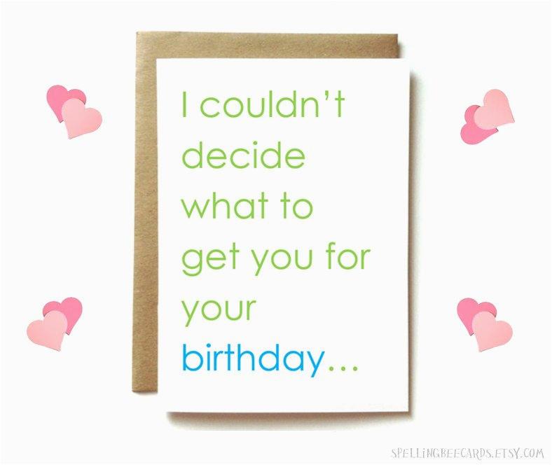 Dirty Birthday Cards Free Card For Boyfriend Husband