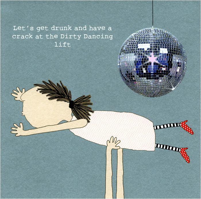 funny greeting card have a crack at the dirty dancing