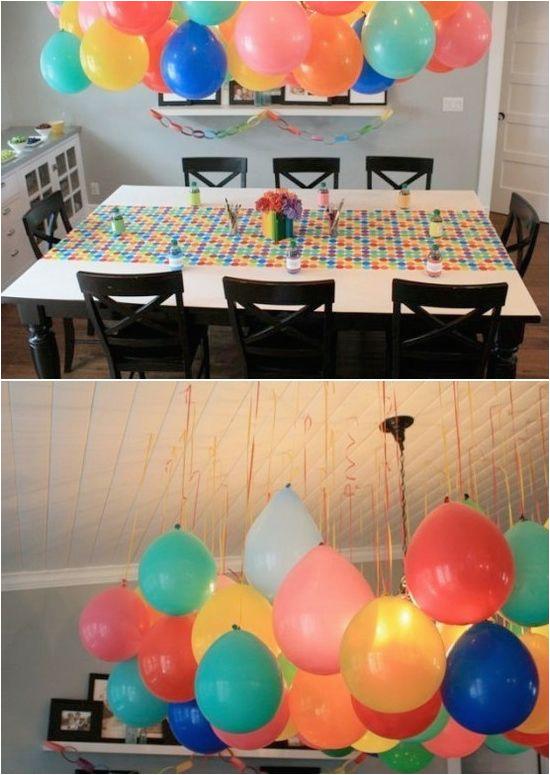 diy birthday decor ideas