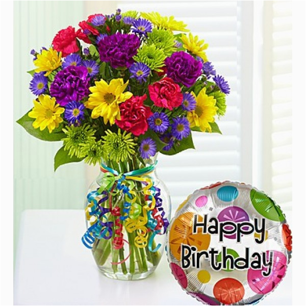 birthday flower bouquet pictures simple colorful