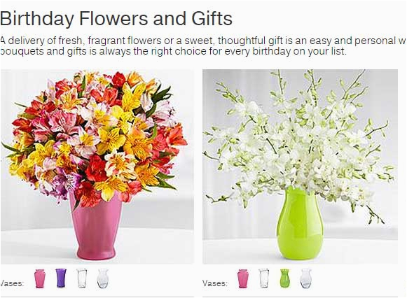 Discount Birthday Flowers Save 15 Discount Proflowers Birthday Flowers Gifts