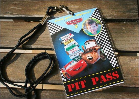 items similar to custom personalized pixar cars birthday
