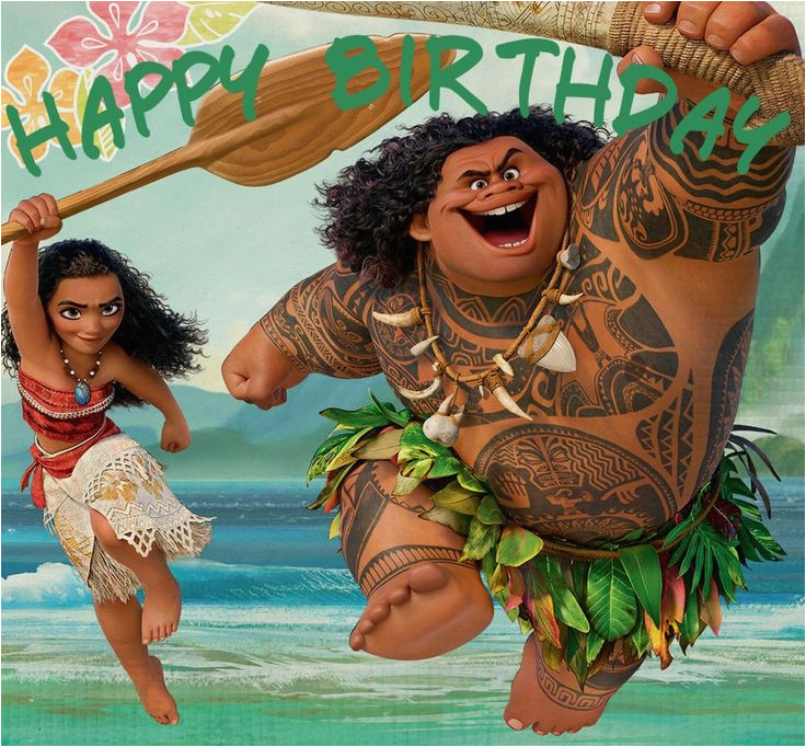 38 best moana birthday cards images on pinterest