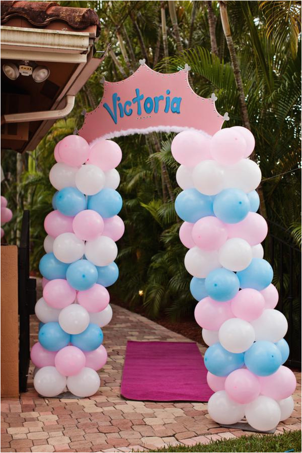 Princess Cinderella Themed 1st Birthday Party
