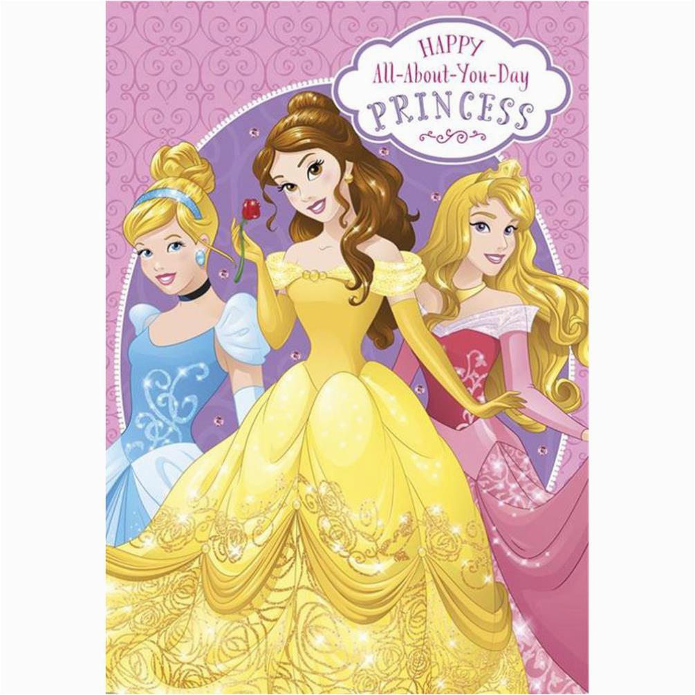 Disney Princess Happy Birthday Card Cards Assorted Ebay