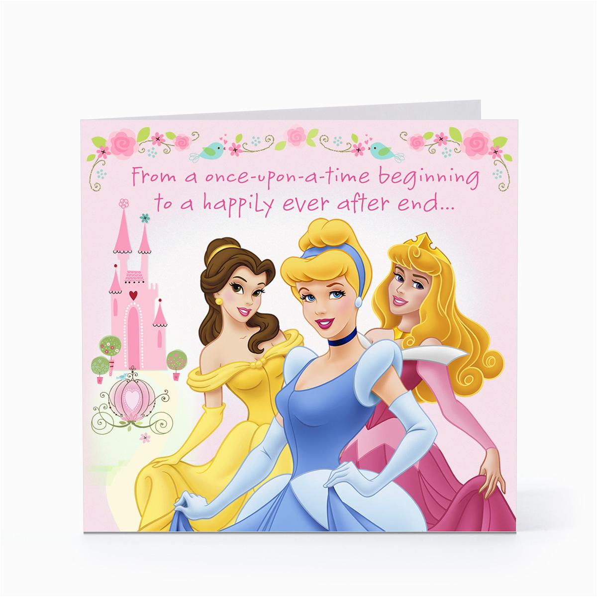 Disney Princess Happy Birthday Card Quotes Quotesgram