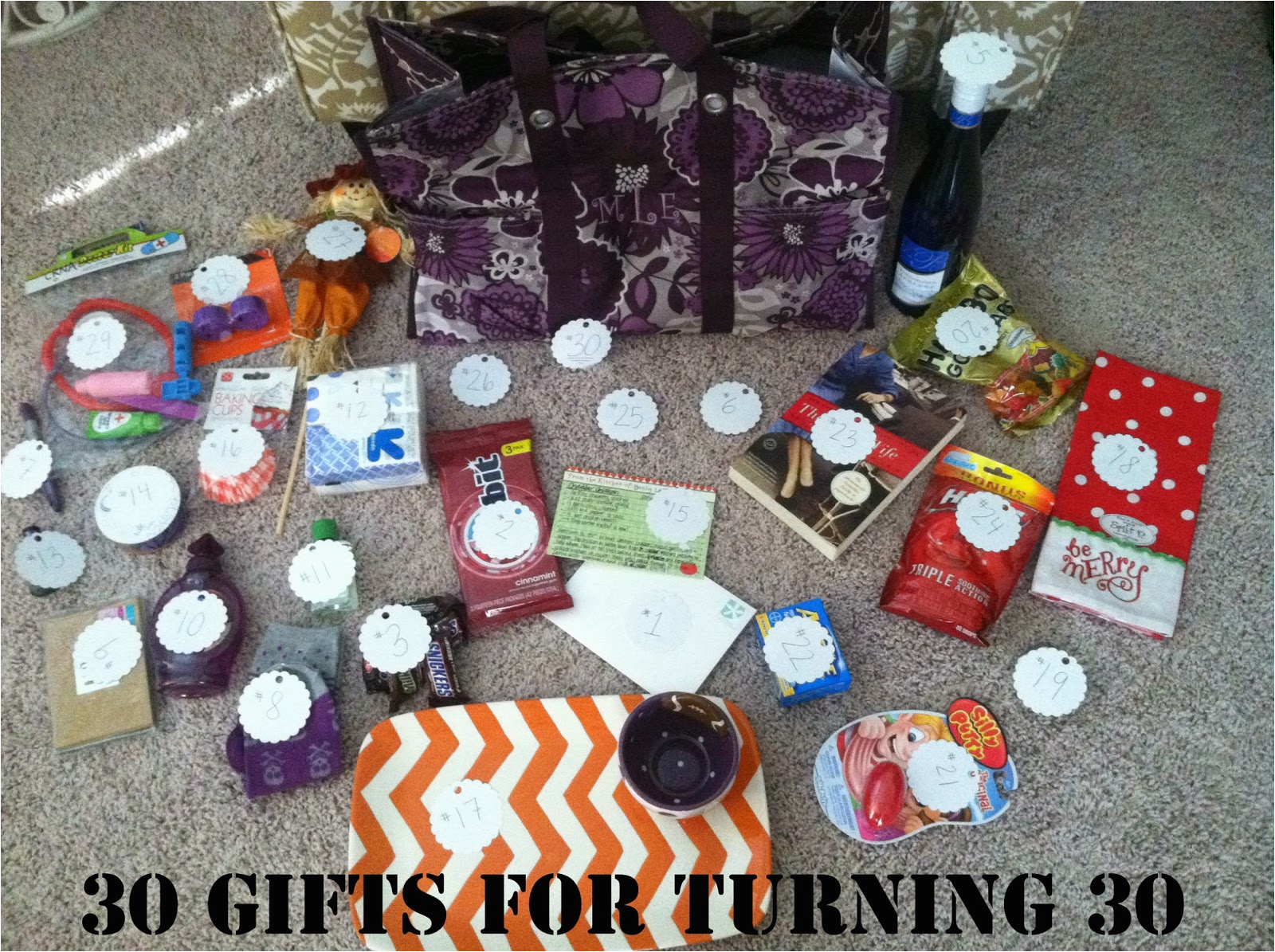 Diy 30th Birthday Decorations Gift Ideas For Her Do It Your Self