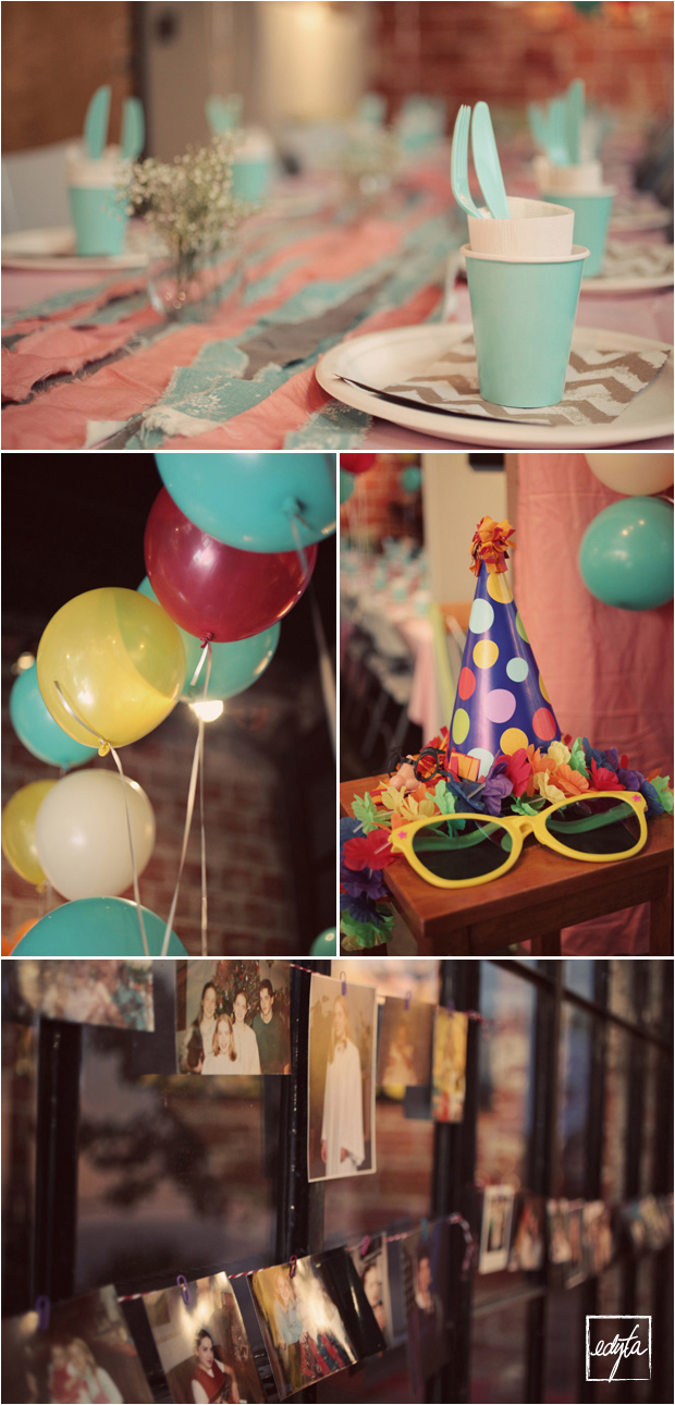 diy leahs surprise 30th balloon birthday party